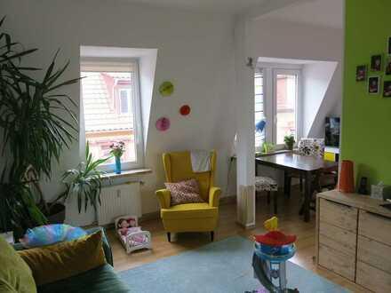 Exklusive 4-Zimmer-DG-Wohnung auf 2 Etagen mit Balkon und EBK in Mannheim