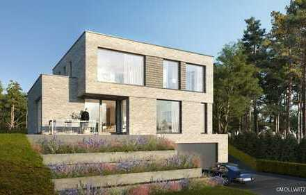 Exklusive Bauhausvilla in ruhiger Sackgassenendlage mit Feldblick im Kakenhaner Grund