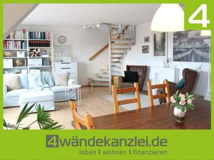 Großzügige Maisonette-Wohnung mit herrlichem Fernblick über Bobenheim-Roxheim