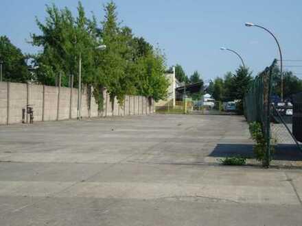Freilagerfläche mit guter Autobahnanbindung