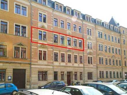 Johannstadt - hochwertig sanierte 5-Zi.-Wohnung mit Balkon