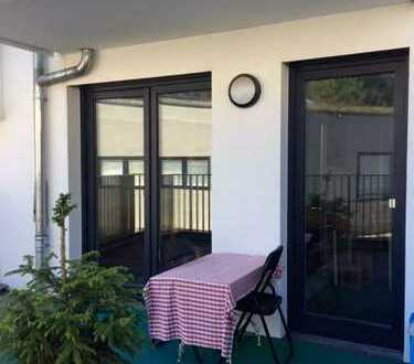 2-Zimmer-Wohnung in exklusivem Neubau mit Terrasse und Einbauküche