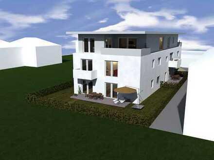 Schlüsselfertige Neubau Erdgeschoss-Wohnung mit Garten und Stellplatz in Worms-Pfeddersheim