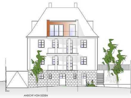 Stadtvilla Erstbezug in Spitzenlage 3,5-Zi-Wohnung mit Balkon und Blick über Cham