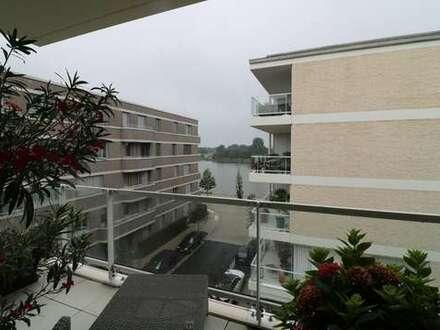 Attraktive 3-Zimmerwohnung mit Weserblick und großem Balkon.