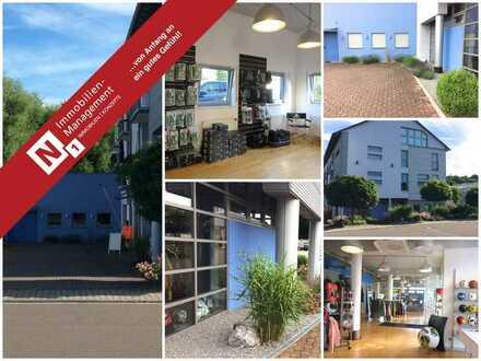 PROVISIONSFREI für den Käufer - Sehr gepflegte Gewerbeeinheit, Teilnutzung als Wohnraum möglich