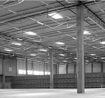 Produktions-und Lagerhallen