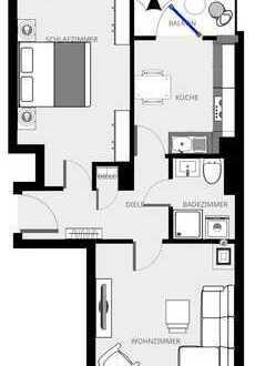 ** Erstbezug nach Sanierung ** 2 Zimmer Wohnung in Ludwigshafen