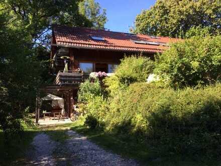 Leben in der Natur im bayerischen Landhaus