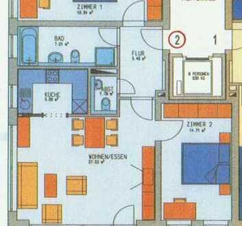 3-Zimmer   EG mit Garten   LINDAU-Reutin - Köchlinareal   beste Wohnlage   Aufzug   Tiefgarage