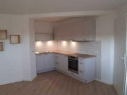 Schön gelegene 2-Zimmer-Wohnung mit Terrasse und Einbauküche in Emmendingen