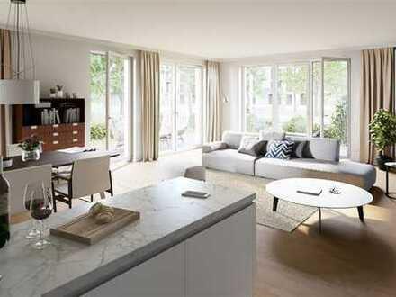EASY - 4-Zimmer-Terassenwohnung mit Bad en Suite und Arbeitszimmer