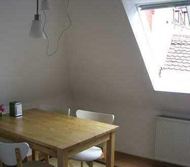 Gepflegte 3,5-Zimmer-Maisonette-DG-Wohnung im Zentrum von Schwabach