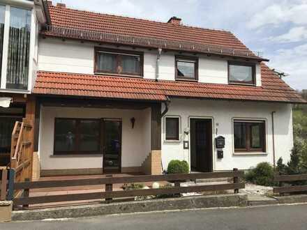 Freundliche 3-Raum-EG-Wohnung mit EBK und Balkon in Jossgrund Oberndorf