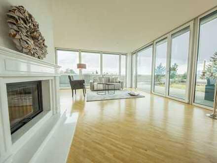Penthouse in ruhiger, zentrumsnaher Wohnlage von Memmingen