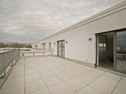 RESERVIERT: Moderne Dachterrassenwohnung mit Alpenblick in Johanneskirchen