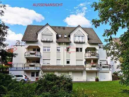 Vollständig renovierte 3-Zimmer-Wohnung mit Balkon, Garage und Einbauküche in Kreuztal