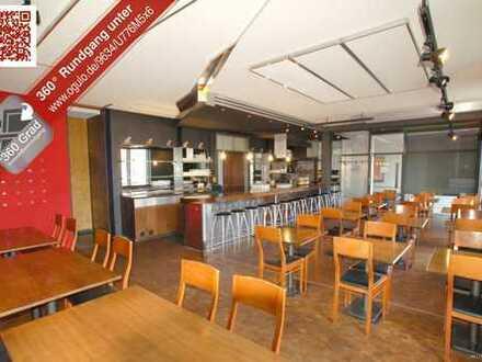 Komplett eingerichtetes Bar-Restaurant in der Innenstadt - Brauereifrei
