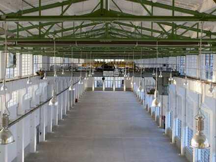 Halle für Produktion / Gewerbe / Handel in der Zeitenströmung