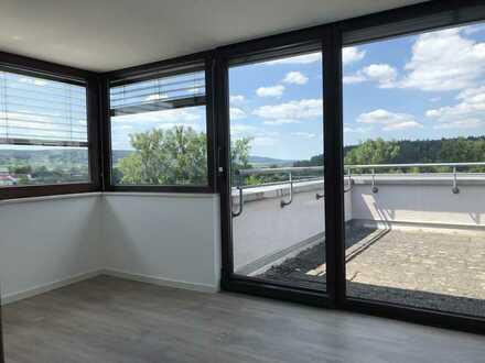 Erstbezug nach Modernisierung in 2,5-Zimmerwohnung mit EBK und Dachterasse