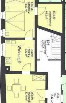 ***Renovierte 2- Zimmer- Erdgeschoss- Wohnung in der Dinkelsbühler Altstadt***