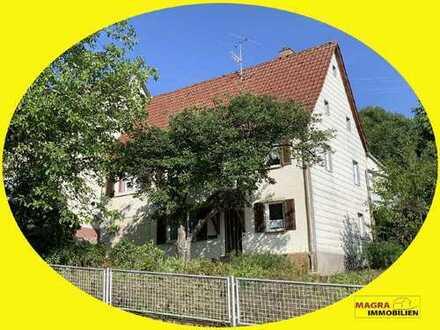 Rosenfeld - Handwerker aufgepasst! Geräumiges Wohnhaus mit Ökonomieteil - sanierungsbedürftig