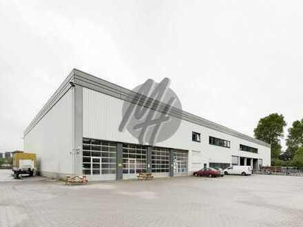 RAMPE + EBEN ✓ Lager-/Produktionsflächen (3.300 m²) & Büro-/Sozialflächen (300-700 m²) zu vermieten