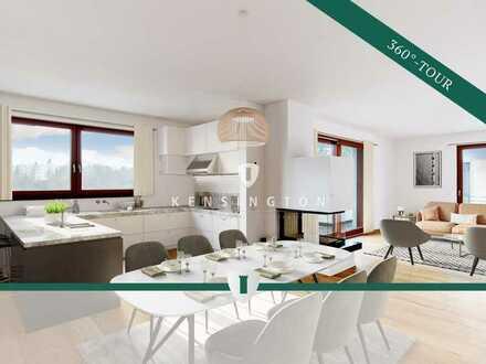 Wunderschöne Penthouse-Wohnung mit Dachterrasse und Kamin