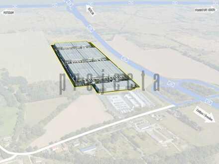 Logistikzentrum Berlin-Süd an der BAB 13 - 3.000 m² - 12.000 m² Units