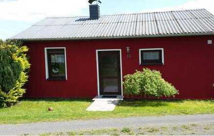 DAUN Gemütliches Ferienhaus mit Terrasse in autofreiem Feriendorf in der waldreichen Vulkaneifel