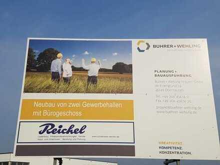 Neue variable Lagerhalle im Gewerbepark Reichel