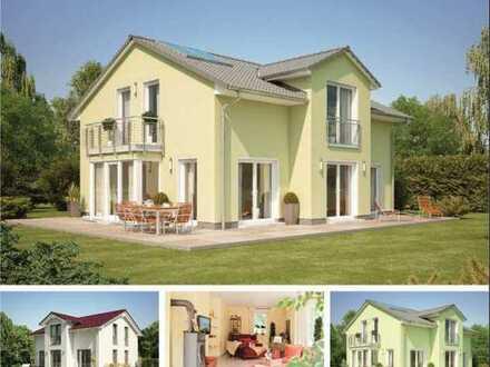 Modernes Einfamilienhaus mit Grundstück