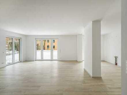 EG 4 Zimmer m. gr. Terrasse und SNF TG KfW55
