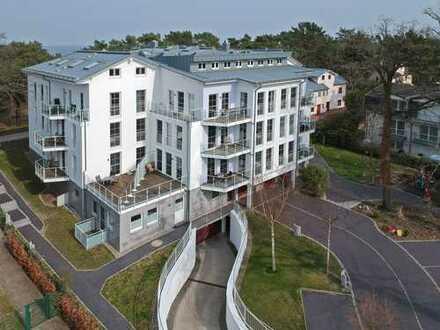 Triple-A an Heringsdorfer Promenade - Traumappartement mit Ostseeblick und Wellness-Bereich im Haus