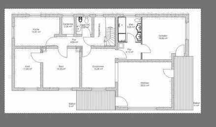 5-Zimmer-Wohnung mit Balkon in Langenzenn