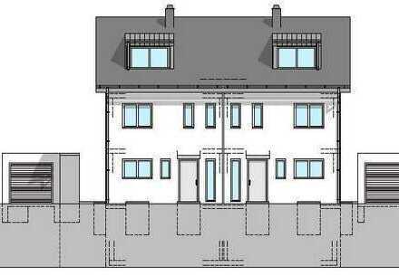 Brück Immobilien - *Neubauprojekt* - 2 attraktive Doppelhaushälften mit Südgrund