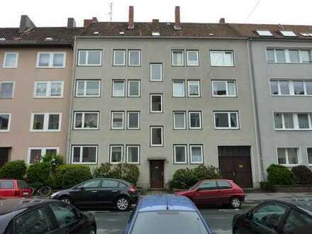 City , renovierte 3 Zimmerwohnung mit Balkon