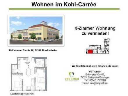 Exclusive 3-Zimmer Wohnung (Nr. 0.08 C)