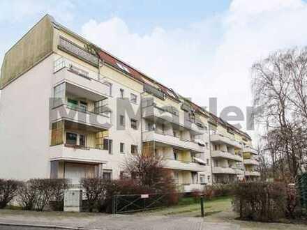 Gut geschnittene 2-Zi.-Dachgeschosswohnung mit großer Wohnküche Nähe Treseburger Ufer