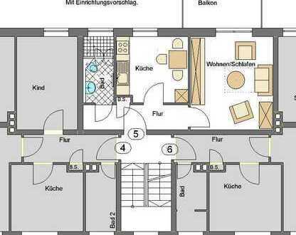 Zentral gelegene Single-Wohnung!