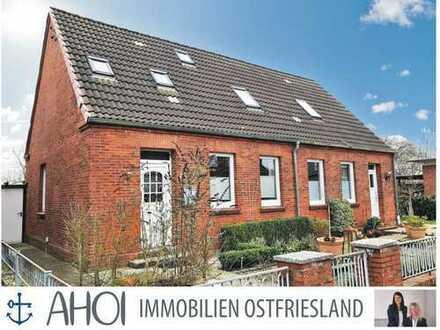 Modernisierte Doppelhaushälfte mit Anbau, Schuppen und kleinem Garten in Emden-Harsweg