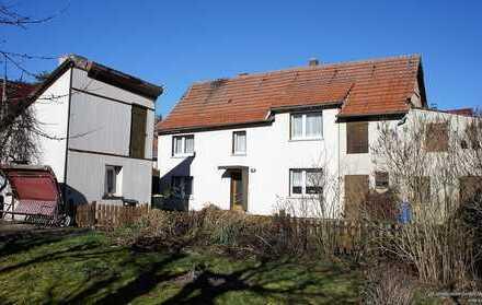Einfamilienhaus mit 2. Bauplatz für Neubau in Urleben bei Bad Tennstedt