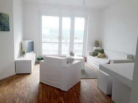 Neubau mit Fußbodenheizung, 2 Bäder, Balkon & Abstellraum!