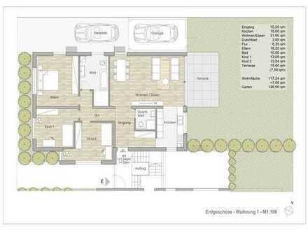 4-Zimmer Gartenwohnung in Sprendlinger Toplage !