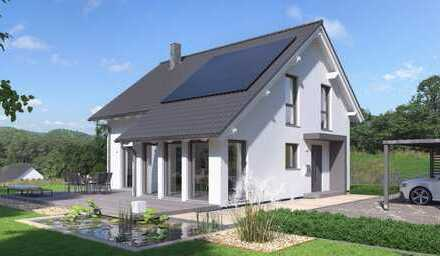 1-Fam.-Haus + Wintergarten + erschlossenem Bauplatz (randnah) in 64839 Münster (Hessen) Maklerfrei!