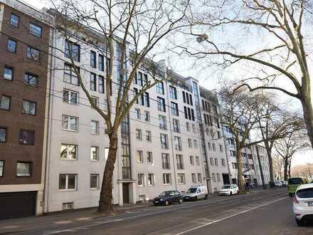 PROVISIONSFREI! 2-Zimmer-Erdgeschosswohnung mit Balkon in D-Golzheim