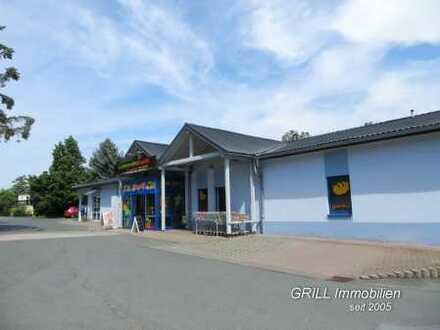 Ladengeschäft in einem vielseitig genutzten Gewerbeobjekt in Zwickau-Oberhohndorf, großer Parkplatz