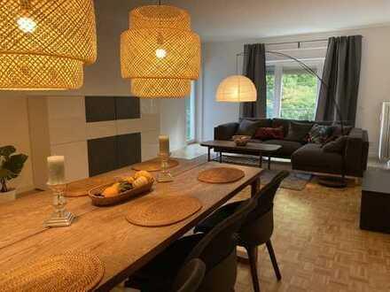 möblierte 3-Zimmer Wohnung mit Isarblick Nähe Englischer Garten