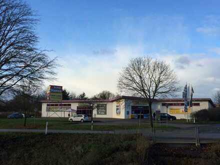 Gewerbeobjekt (2 Einheiten!) mit ausreichend PKW-Stellplätzen in sehr guter Lage von Herxheim