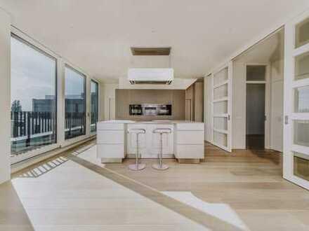 Sofortbezug /Penthouse mit Dachterrasse, Tiefgarage, Lift, Klimatisierung, Kamin, 2,90 Raumhöhe